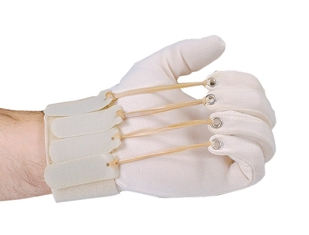 Deluxe Finger Flexion Glove, Right, Large/Extra Large