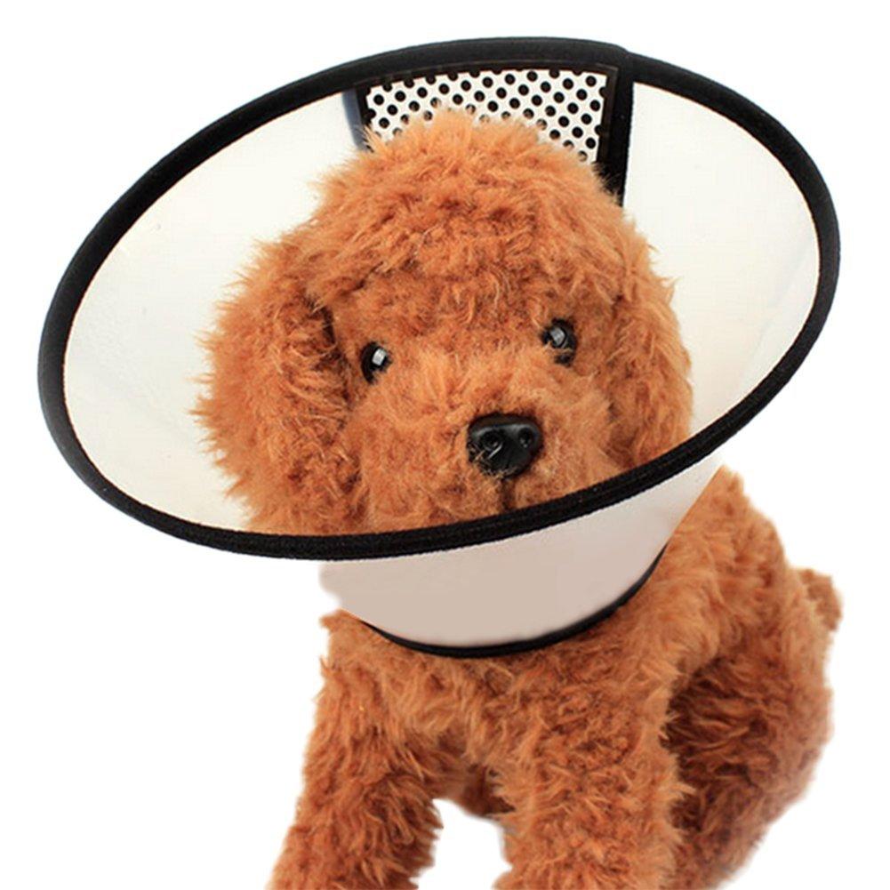 Treestar pour chien ou chat Elizabeth Collier Protège cou Empêche le chien Chaos Léchage Bite Coque de bain Coque 1pcs