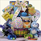 Hoppin' Easter Fun: Boy's Child Easter Basket Ages 3 to 5 Years Old