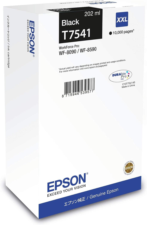 Patrone Epson Workforce Pro Wf 8090 T7541 Xxl Black Bürobedarf Schreibwaren