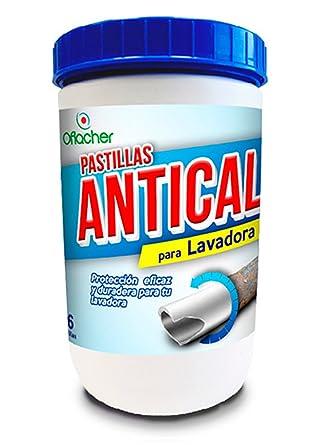 Pastillas lavadora monocapa antical - Bote de 720g - 45 unidades ...