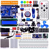 Yahboom Project Super Starter Kit with 14 Kinds of Advanced Sensors Tutorial for Arduino