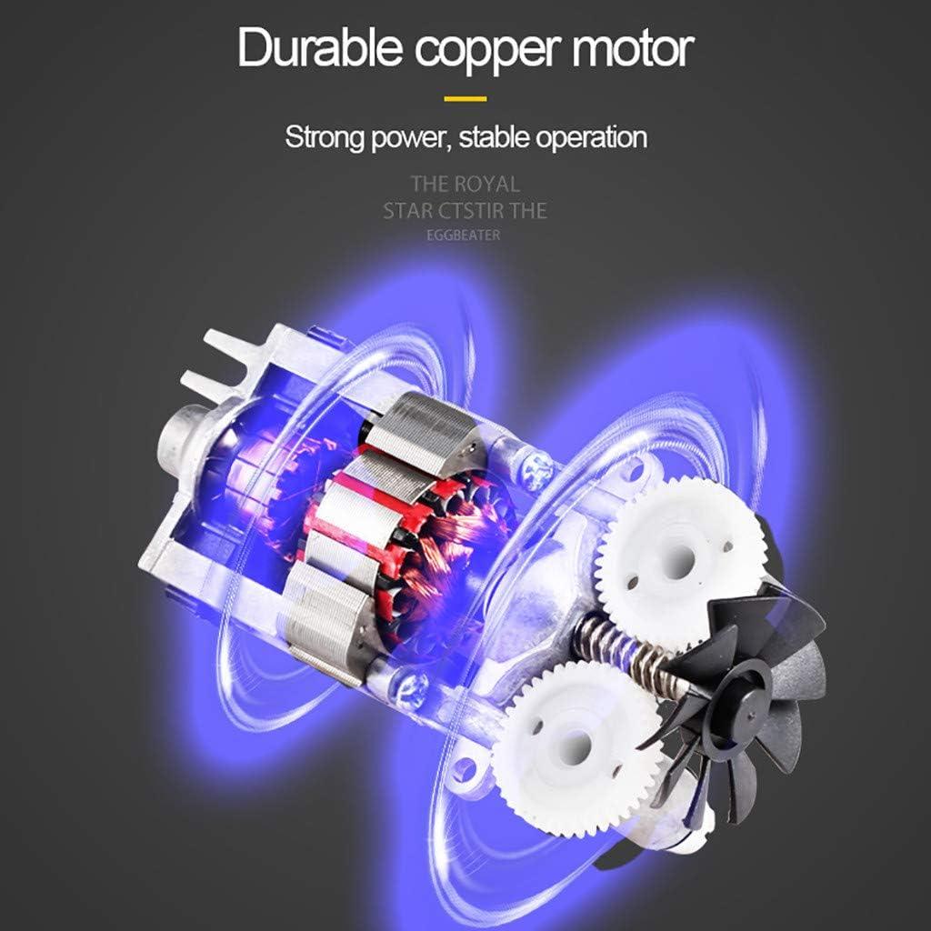 Divers Confitures Cr/ème /Œufs Bouton Turbo Batteur 250W Batteur /Électrique avec 6 Vitesses et 2 Fouets M/étalliques /Électriques et Crochets /à P/âte pour P/âtes