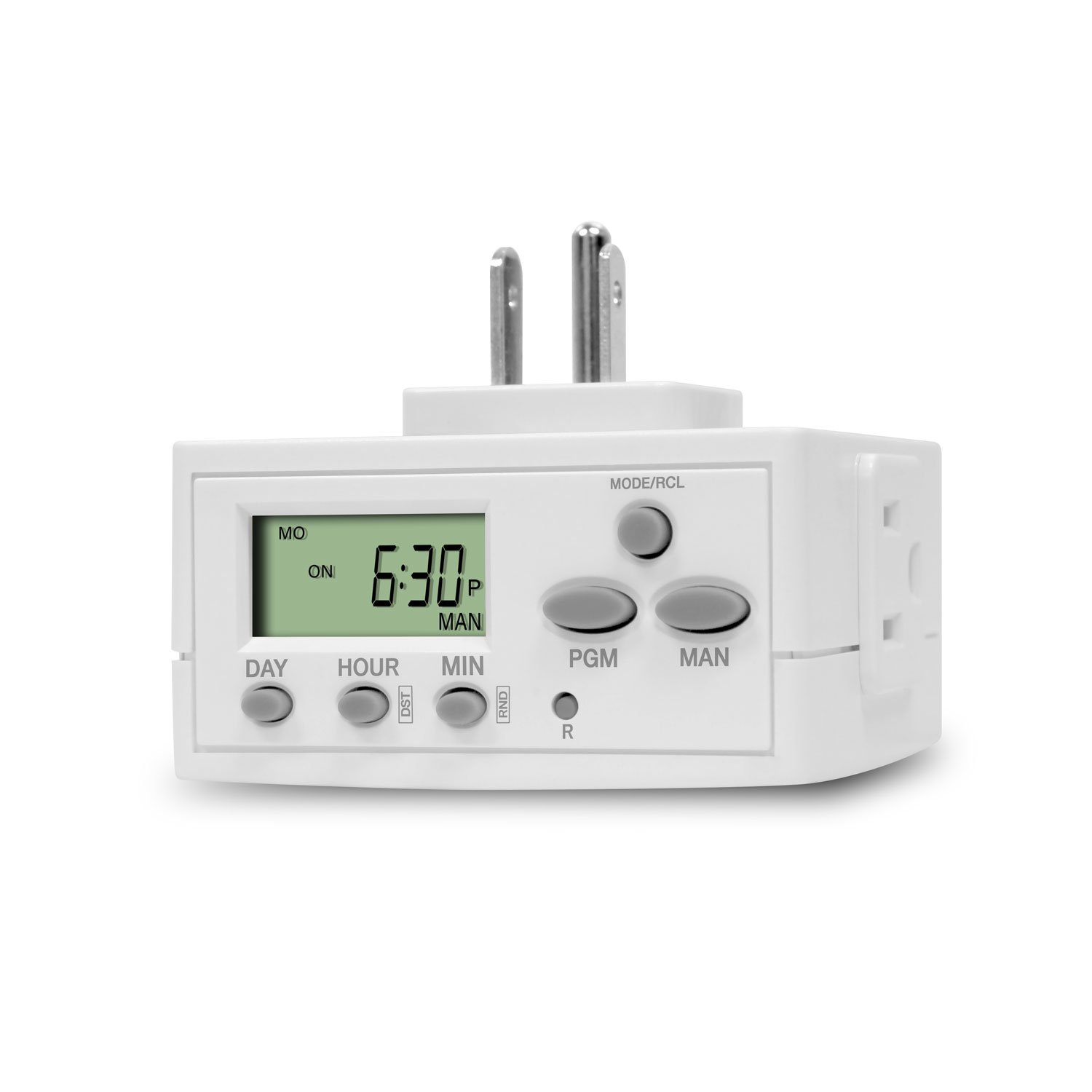 Topgreener Tgt02 2 Pack Heavy Duty 7 Day Programmable Plug-in Digital Timer... Cnc, Metalworking & Manufacturing