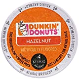 k cup hazelnut - Dunkin' Donuts Hazelnut Flavored Coffee K-Cup Pods, For Keurig Brewers, 60 Count
