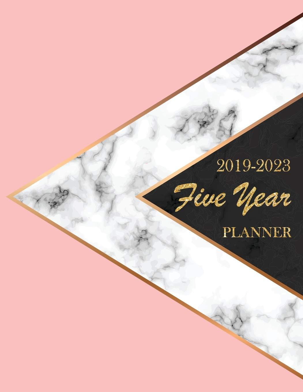 2019-2023 Five Year Planner: Monthly Schedule Organizer ...