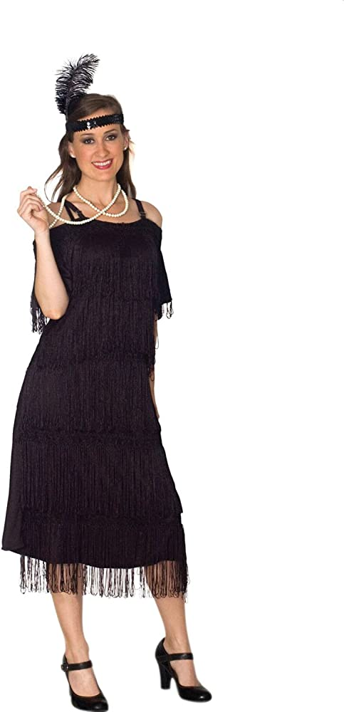Women\'s Plus Size Lava Diva Deco Era Flapper Costume