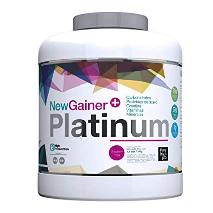 Gainer Platinum 3Kilogramos de High Pro Nutrition: Amazon.es ...