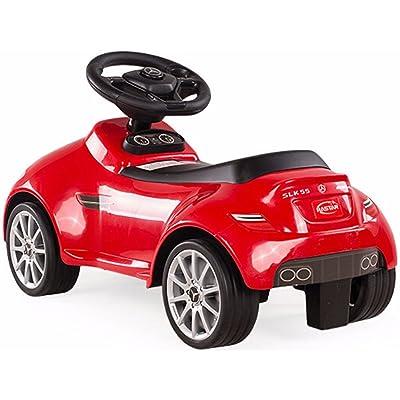 RASTAR Mercedes SLK 55 AMG Foot to Floor Ride On Red: Toys & Games [5Bkhe0306345]