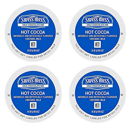 Pack 44-Count Swiss Miss Hot Cocoa Made With Premium Cocoa and Non-Fat Milk (4-pack) by by Keurig® K-Cup®