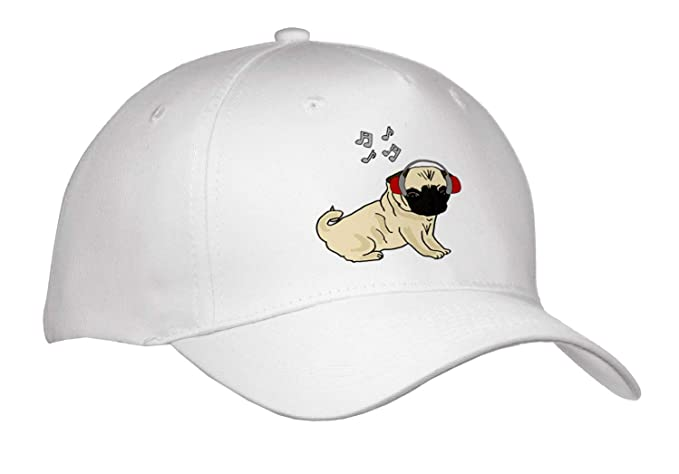 Amazon All Smiles Art Pets Funny Cool Pug Puppy Dog Listening