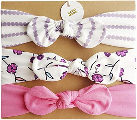 Baby Girls Headbands 15 Pcs//Set Cute Sweet Bowknot Bunny Ear Hairband for Infant Toddler Photography Headwear Clearence