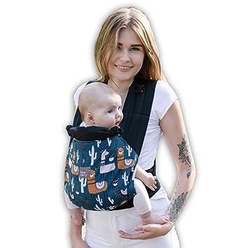 Babytrage für Neugeborene bis 3Jahr Ergonomische Babytragetasche Bauchtrage Mode