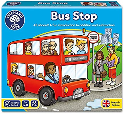 Orchard_Toys - Bus Stop, juego de mesa infantil: Orchard Toys ...