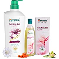 Himalaya Herbals Anti Hair Fall Hair Oil, 200ml and Himalaya Anti Hair Fall Shampoo, 700ml