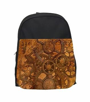 Jacks Outlet Messenger Bag Steampunk Gears