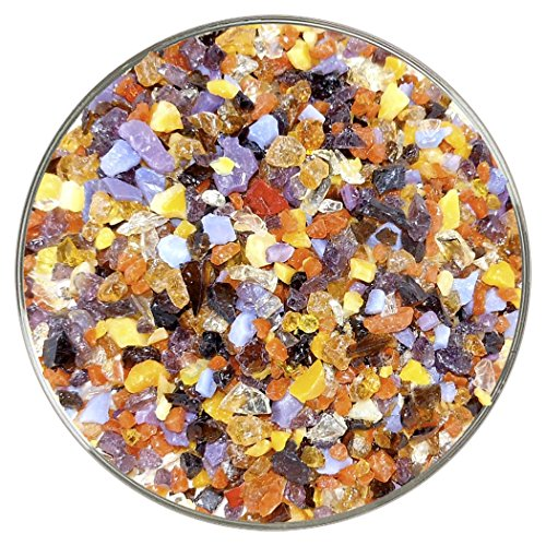 Saharan Sunset Designer Coarse Frit Mix – 4oz – 90COE – Made From Bullseye Glass
