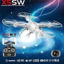 Syma X5SW Explorers-II FPV 2.4Ghz RC Drone Quadcopter Wifi 2MP Camera White