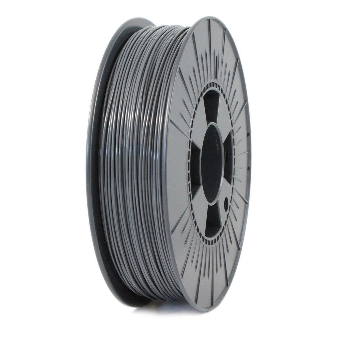 Ice Filaments ICEFIL1PLA015 Filamento PLA, 1,75 mm, 0,75 kg, Gris