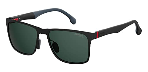 c63becef42 Carrera 8026-S Gafas de Sol para Hombre, Matt Black, 57 mm: Amazon ...