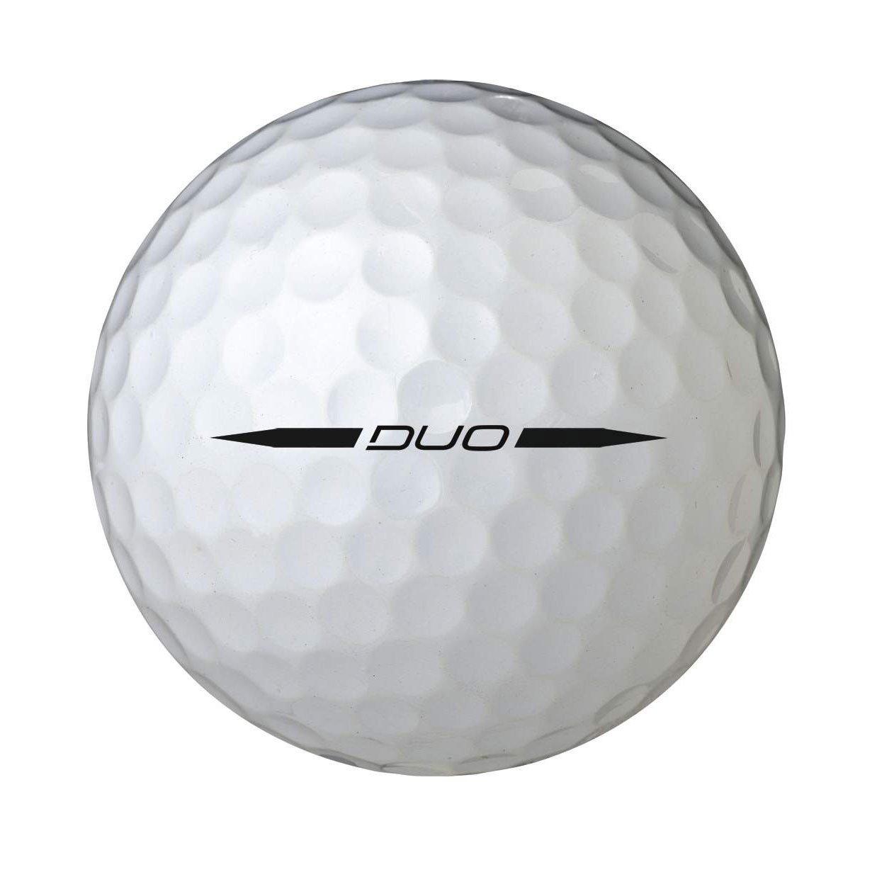 ウィルソンスタッフ デュオ 2個パック (ゴルフ) ボールx2パック B00FEIW470