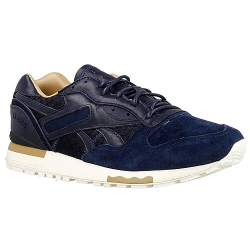 Zapatillas Reebok - Lx 8500 Lux azul/blanco/marrón talla: 41: Amazon.es: Zapatos y complementos