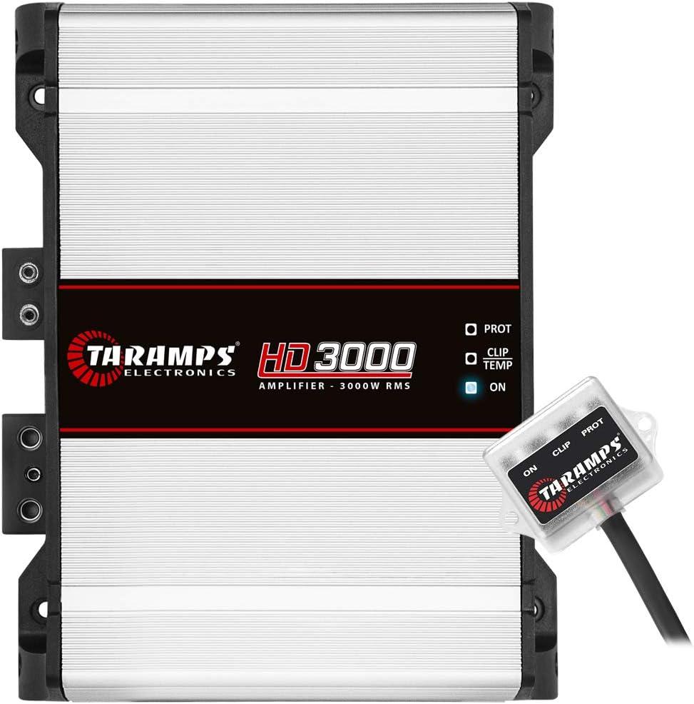 Taramps MD 3000.1 1 Ohm 3000 Watts Class D Full Range Mono Amplifier