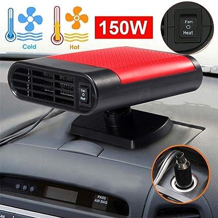 12V Red Window Defroster Electric Heating For Defrosting Defogging Car Heater Defroster