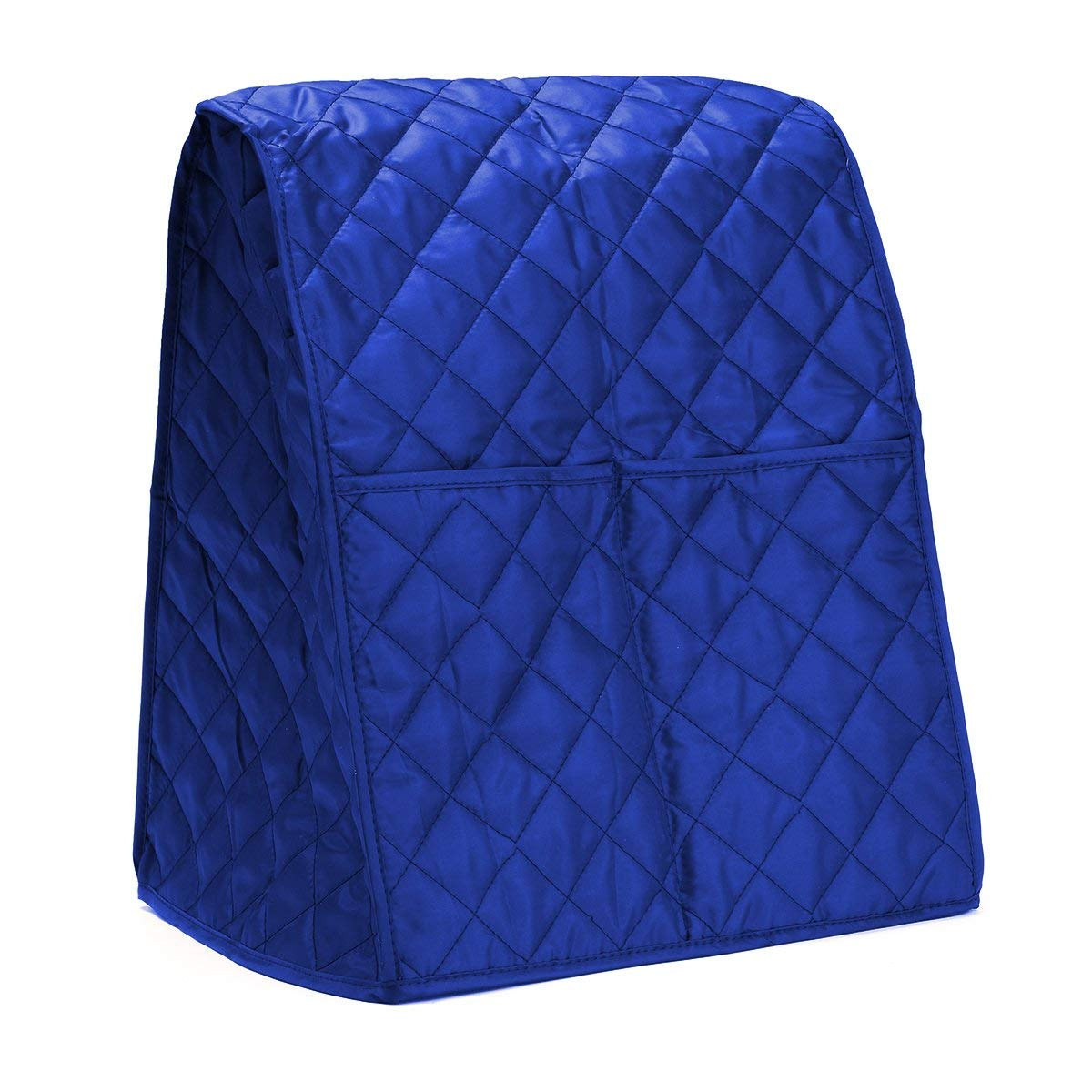 SAFETYON Kitchen Aid Mixer Covers Stand Mixer Cover 3 Color Cloth Quilted Pocket Blender Dust-proof Cover with Organizer Bag for Kitchenaid Blue