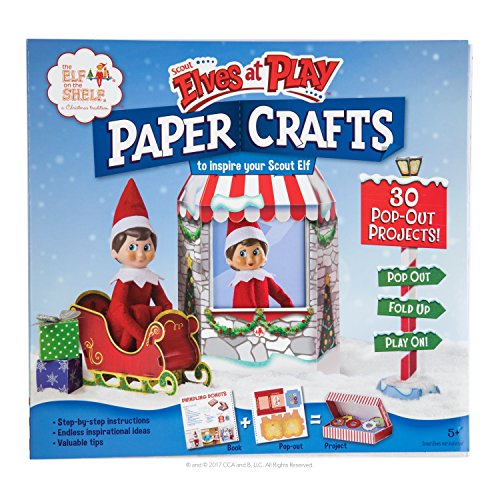 Elf on the Shelf Scout Elves At Play Paper Crafts - Use Shelf Kit