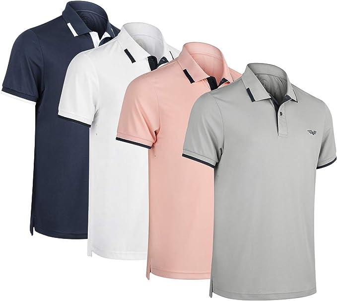 Everybody Loves Science Mens Short Sleeve Polo Shirt Regular Blouse Sportswear
