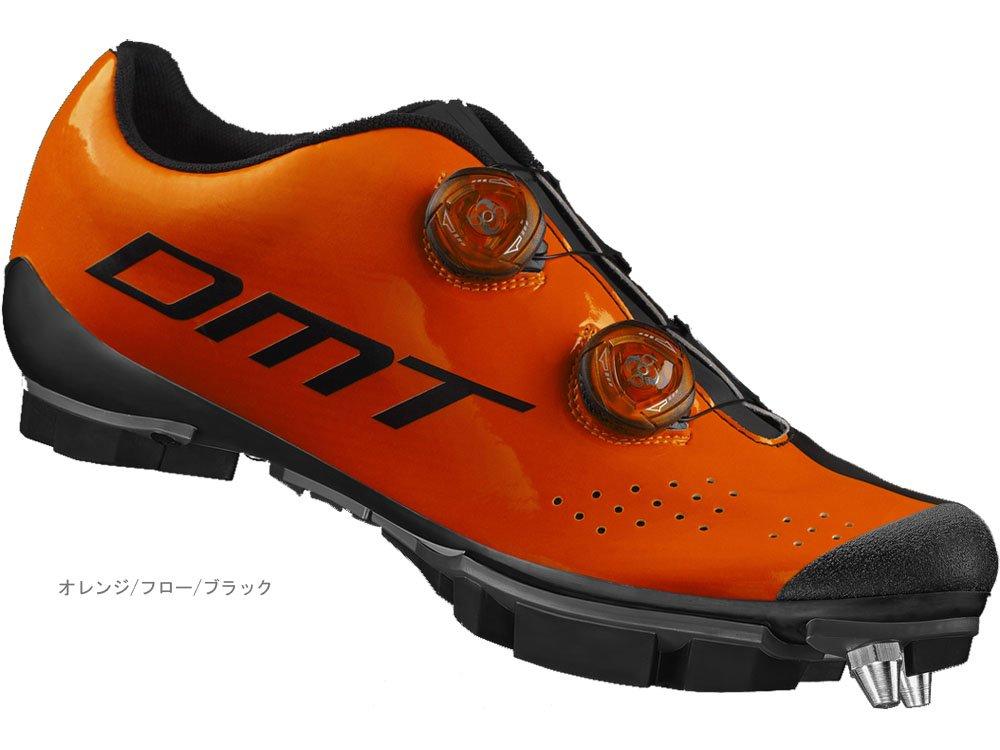 DMT(ディーエムティー) M1 MTBシューズ オレンジ/フロー/ブラック 38  B06XCSCF3Q
