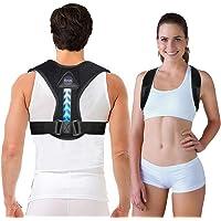 Arua Posture Corrector for Women and Men Easy to Wear Posture Brace Back Straightener,Fully Adjustable Posture Trainer…