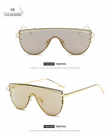 Mode Polarisierte Sonnenbrille Weibliche Retro Beliebte Sonnenbrille Anti - Ultraviolett Fahrspiegel Silberrahmen Weißes Quecksilber PaJD0T6oc