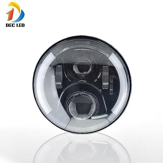 2 opinioni per DEC LED 7inches Super Bright LED Lights Bulbs auto DRL sostituzione Fari angolo