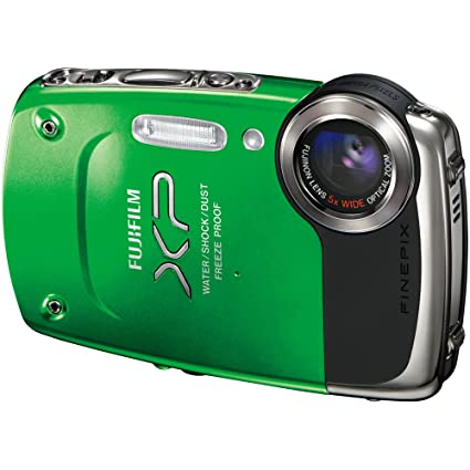 amazon com fujifilm finepix xp20 green 14 mp digital camera with rh amazon com fujifilm xp20 manual Fuji FinePix S6800 Digital Camera