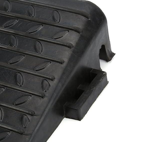 Lote de 2 rampas para bordillos de goma resistente para coche, caravana, remolque, silla de ruedas o acceso para discapacitados: Amazon.es: Bricolaje y ...