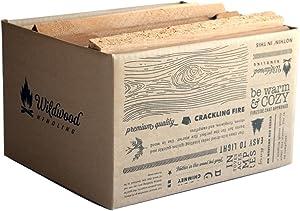 Kiln-Dried Cedar Kindling – Medium Hearth Box, Perfect for Fireplaces