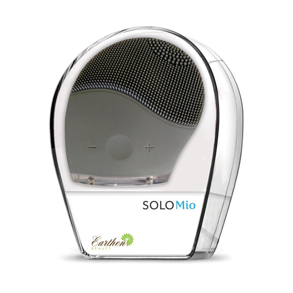SOLO Mio For Him - Facial Cleansing, Massaging and Antiaging in One Elegant Device. All You Need to Cleanse Your Skin, Look Younger, and Get The Smoothest Shave