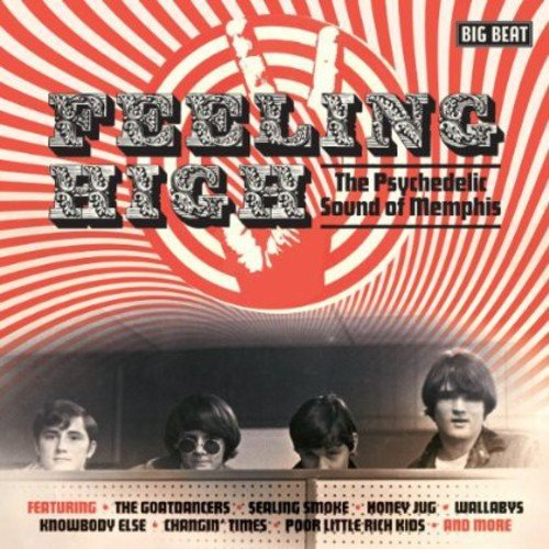 CD : VARIOUS ARTISTS - Feeling High: Psychedelic Sound Of Memphis / Various (United Kingdom - Import)