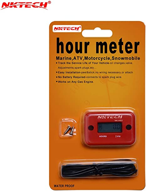 Amazon.com: nktech nk-hs2 inductivo Hour Meter para el gas ...