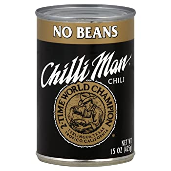 Chili Man Canned Chili without Beans