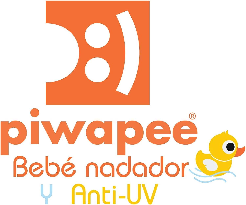 Piwapee con pa/ñal antifugas Vahin/é Rosa Traje de ba/ño 1 Pieza Anti UV UPF50