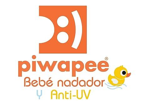 Piwapee - Bonnet de bain Bébé Nageur Rose poudré imprimé Vahiné (6-12M TT47)   Amazon.fr  Bébés   Puériculture 7ac1bb2654c
