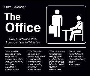 Calendar Ink The Office Calendar, 2021 Desk Calendar, The Office Merchandise
