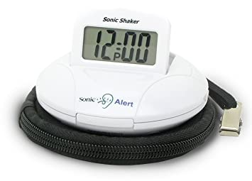 Sonic Alert SBP100 Portable Loud Vibrating Alarm Clock