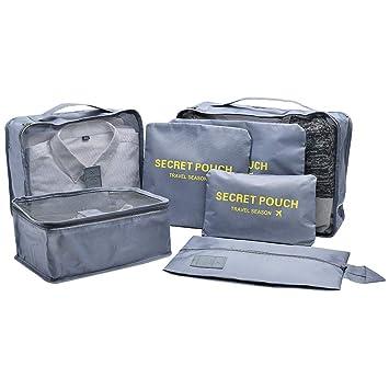 Amazon.com: Juego de cubos de embalaje para viajes, cubos de ...