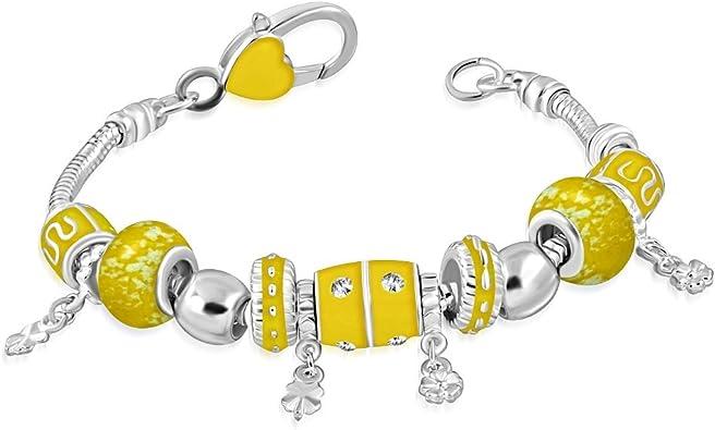 charm pandora jaune