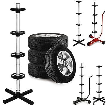 Soporte para cuatro ruedas y llantas de coche de 225 mm máx.: Amazon.es: Coche y moto