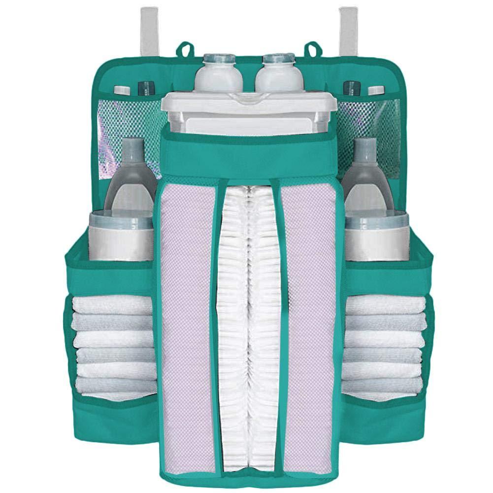 h/ängende Windel-Organisations-Lagerung f/ür Baby-Wesensmerkmale Nachtlagerungs-Beutel-Paket-Beutel-h/ängende Windel-Tasche NAKELUCY Kindergarten-Organisator und Baby-Windel-Transportgestell
